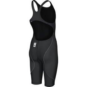 arena Powerskin St 2.0 Short Leg Open Full Body Swimsuit Meisjes, black